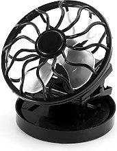 Cooling Fan, Portable Solar Powered Mini Air
