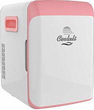 Cooluli Electric Cooler and Warmer, Pink, 10 Liter
