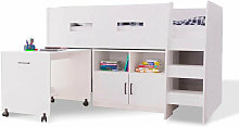 Cooper Cabin Bunk Bed Set with Storage & Desk -