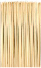 Cooraby 200 Pieces Bamboo Skewers Natural Wooden