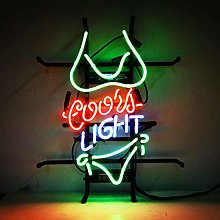 Coors Light Neon Sign Room Party Signs Beach Game