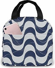 Copacabana Walk Reusable Insulated Lunch Tote