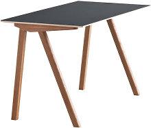 Copenhague n°90 Desk by Hay Black/Natural wood