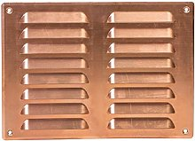 Copper 260x190mm / 10x8 inch Air Vent Grille Cover