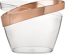 Copper Banded Champagne Bucket, Wine, Champagne,