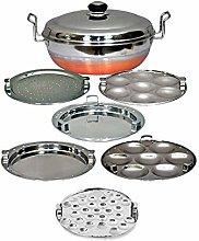 Copper Bottom IDLY Cooker IDLY Maker Multi KADAI