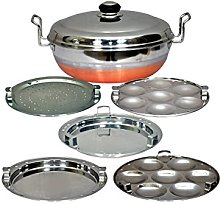 Copper Bottom IDLY Cooker IDLY Maker Multi KADAI