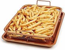 Copper Chef Crisper Tray, Non Stick Cookie Sheet