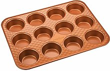 Copper Chef Muffin Pan | 12 Cup Cupcake Pan With