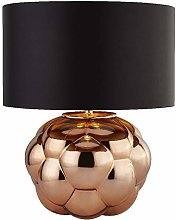 Copper & Copper Bubble Glass Retro Table Lamp