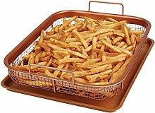 Copper Crisper Non-Stick Oven Baking Tray with