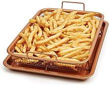Copper Crisper Tray Non-Stick Oven Baking Tray