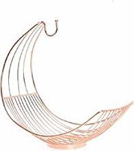 Copper Effect Metal Wire Storage/Display Basket