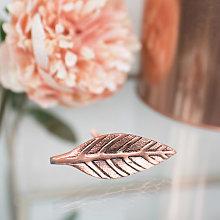 Copper Leaf Drawer Knob
