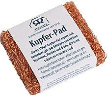 Copper pad, German banderole