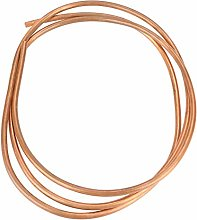 Copper Pipe, OD 4mm x ID 3mm T2 Copper 1 Roll