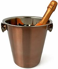 Copper Stainless Steel Metal Wine Champagne Bottle