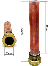 Copper Thermostat Pocket - Calorex