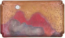 Copper Tray,Red Copper Serving Plate Japanese