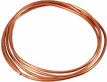 Copper Tube - 2M Soft Copper Tube Pipe OD 4mm x ID