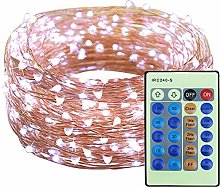 Copper Wire LED String Lights 66ft 200 LEDs 20M