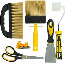 Coral 10321 Wallpaper Tool Set, Black, Set of 6