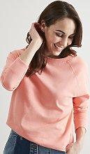 Coral Boxy Sweatshirt - 8