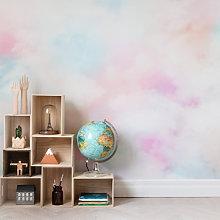 Coral Clouds Mural Wallpaper (SqM)