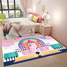 Coral Velvet Mat Area Rugs Play Crawling mat for