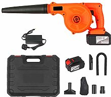 Cordless Leaf Blower 21V 2 Pack 4.0A Lithium 2 in