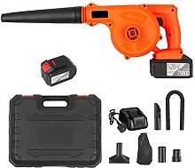 Cordless Leaf Blower 21V 2 Pack 6.0A Lithium 2 in