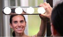 Cordless Make-Up Studio Lighting: Four