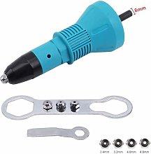 Cordless Rivet Gun, 4EVERHOPE Electric Drill Tool