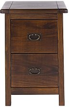 Core Products 2 Drawer Petite Bedside Cabinet,