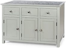 Core Products - Perth 3 Door, 3 Drawer Sideboard