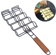 Corn Grill Basket Metal Corn Holder for Grill