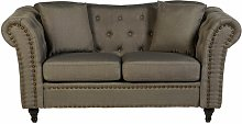 Cornelie 2 Seater Chesterfield Sofa Rosalind