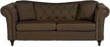 Cornelie 3 Seater Chesterfield Sofa Rosalind