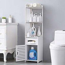 Corner Bathroom Cabinet Floor Standing Tall