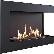 Corner Bio Fireplace 70 cm (Right)