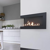 Corner bio fireplace 90 cm (right)