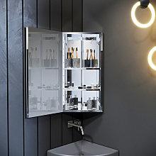 Corner Cabinet Wall Mounted 600 x 300 mm Bathroom