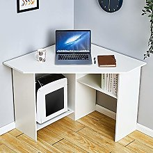 Corner Computer Desk Workstation PC Laptop Table