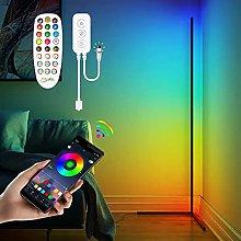 Corner Floor Lamp - RGB Color Changing LED Floor