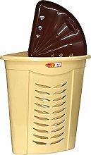 Corner Laundry Basket 45L Beige