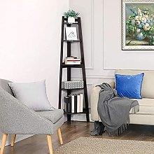 Corner Shelf   Bookcase   Open 5-Tier Book Shelves