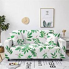 Corner Sofa Cover, Modern Green Olive Leaf Branch