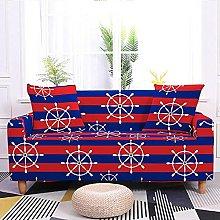 Corner Sofa Cover,Modern Striped Rudder Pattern