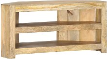 Corner TV Cabinet 90x45x45 cm Solid Mango Wood -
