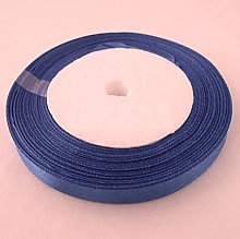 Cornflower BLUE 22 METRES X 6MM OF SATIN RIBBON